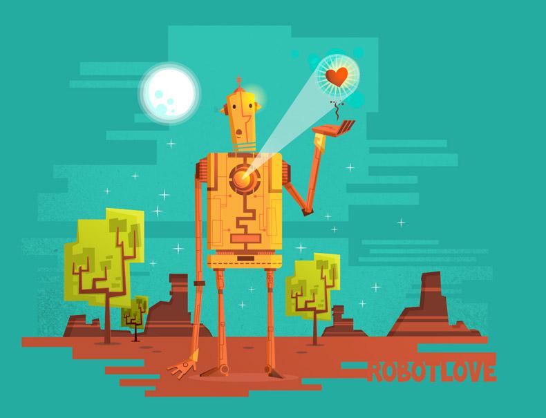:::Robot Love:::. av Ilias Sounas