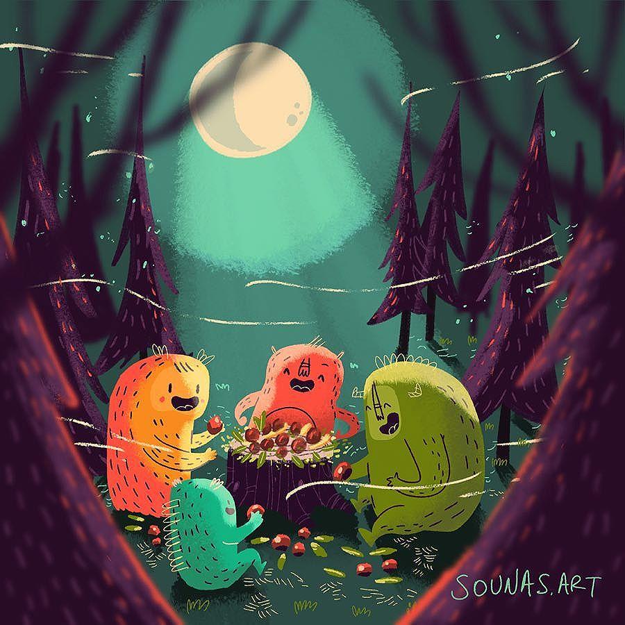 :::Forest Supper - Δείπνο στο δάσος:::