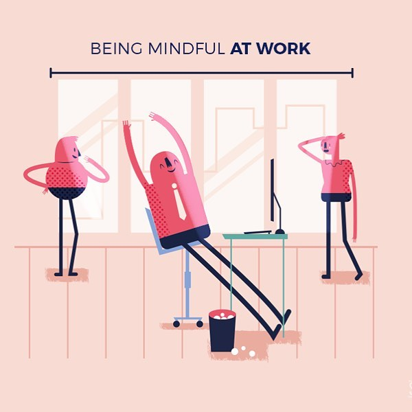Mindful illustration