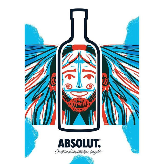:::Absolut Vodka competition entry::: #absolutcompetition #absolutvodka #illustrationgram #art #illustration #vodka