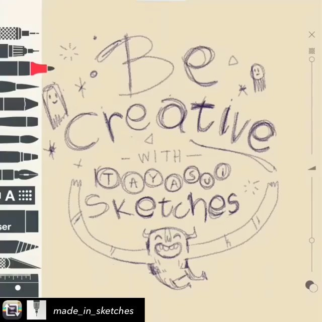Repost from @made_in_sketches using @RepostRegramApp - Be créative with Sketches app @sounas_ilias#sketchesapp #drawingapp