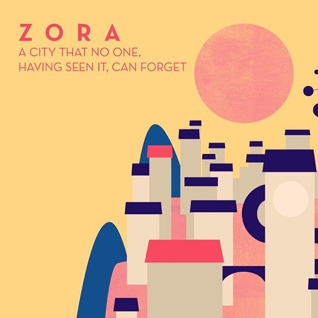 :::Zora City - preview, work in progress::: #architecture #illustration #vector #wip #εικονογράφηση