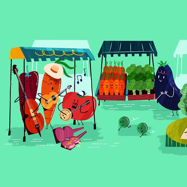 #vegetables #character_design #illustration #εικονογράφηση #illustragram #foodillustration #vector