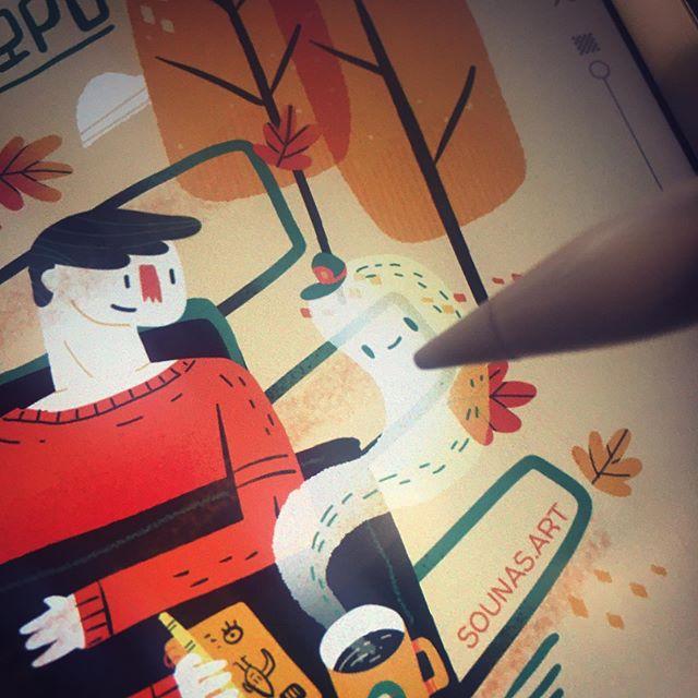 #wip #tayasuisketches #made_with_sketches #tayasuiapp #illustration #ipadart #concept #εικονογράφηση