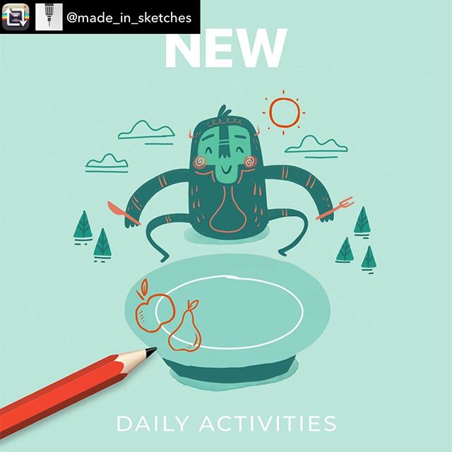 Repost from @made_in_sketches using @RepostRegramApp - Discover a new activity in your Daily Activities folder ! Drawing by @sounas_ilias #new #dailyactivities #sketchesapp #tayasui #drawingapp#staystafe #play #children #daily #activity #newfolder