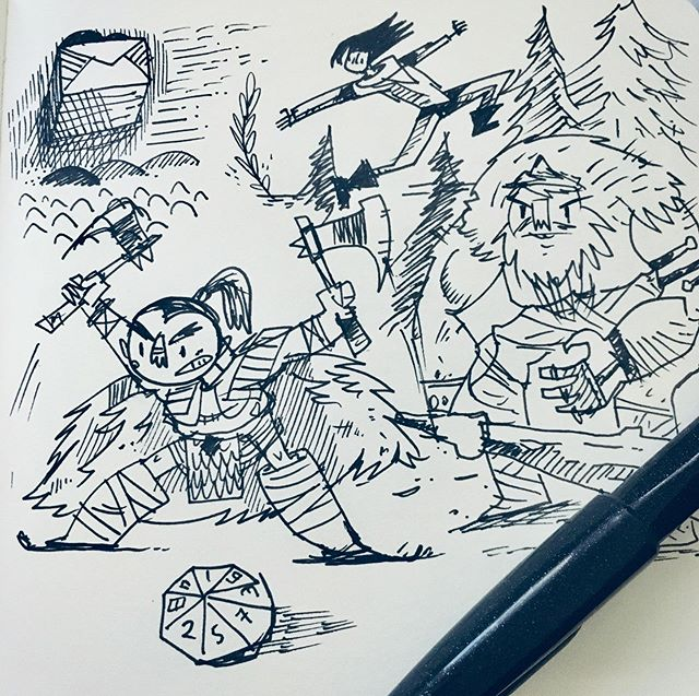 :::Warrior doodles::: ⚔️ 🪓
