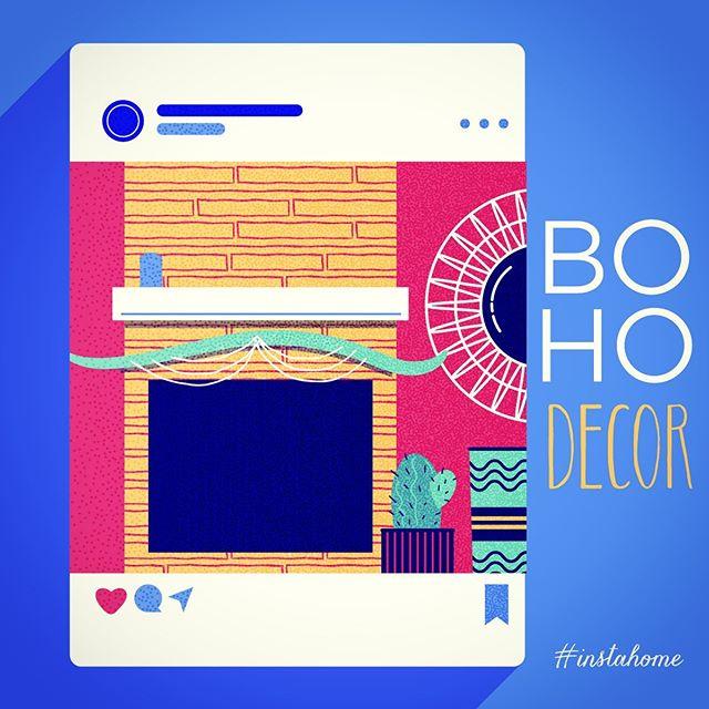 :::Boho decor- vector illustration:::