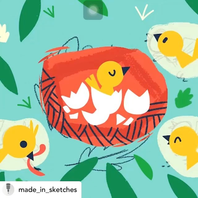 @made_in_sketches Sketches pastel updateDrawing by @sounas_ilias #new #update #pastel #tayasui #drawingapp #bird #nest #pro #pasteltool #realistic #demo #tayasuisketches