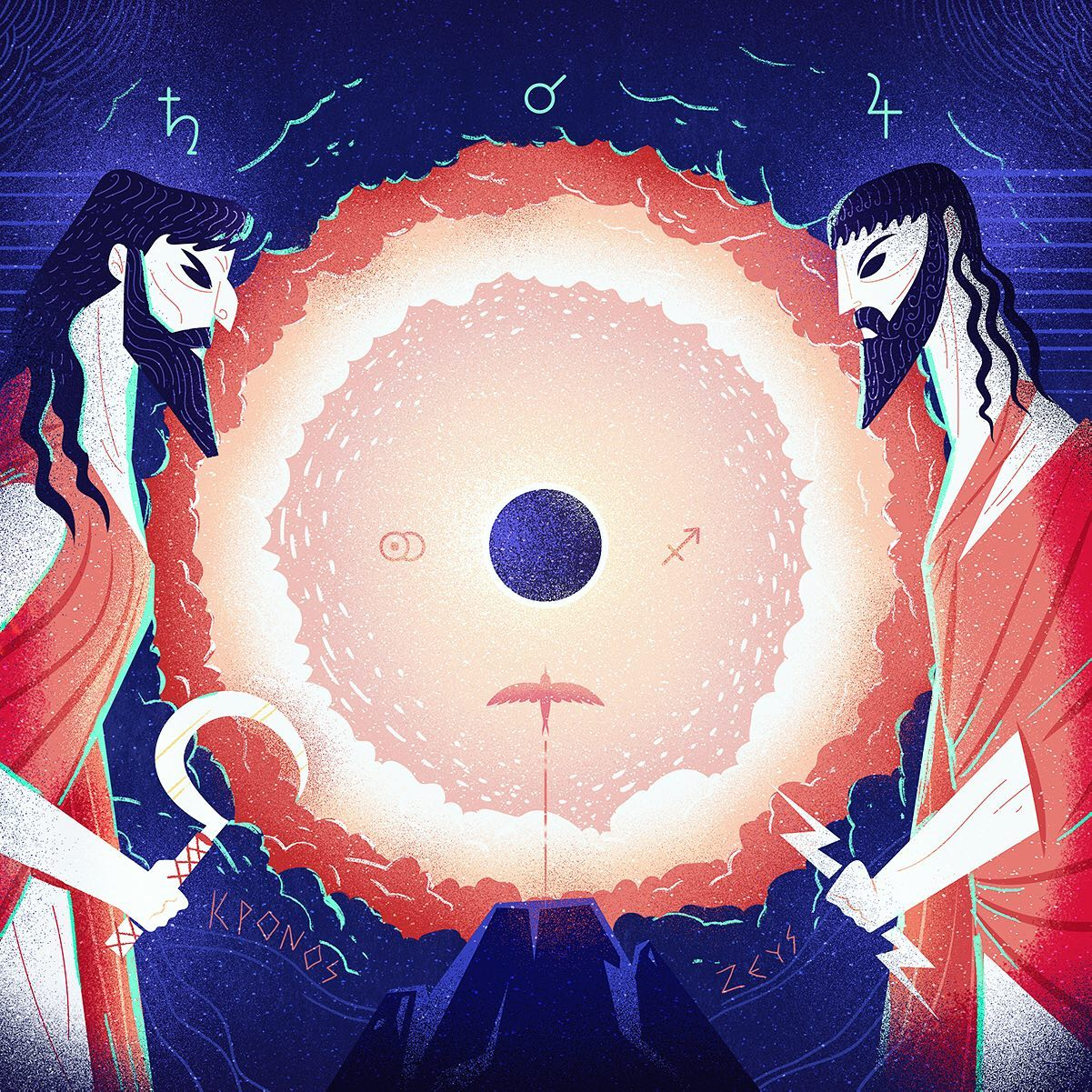 :::Cronus vs Zeus (Saturn vs Jupiter):::The eternal fight between Father & Son, the ultimate confrontation in the War of Titans, the Great Conjunction...