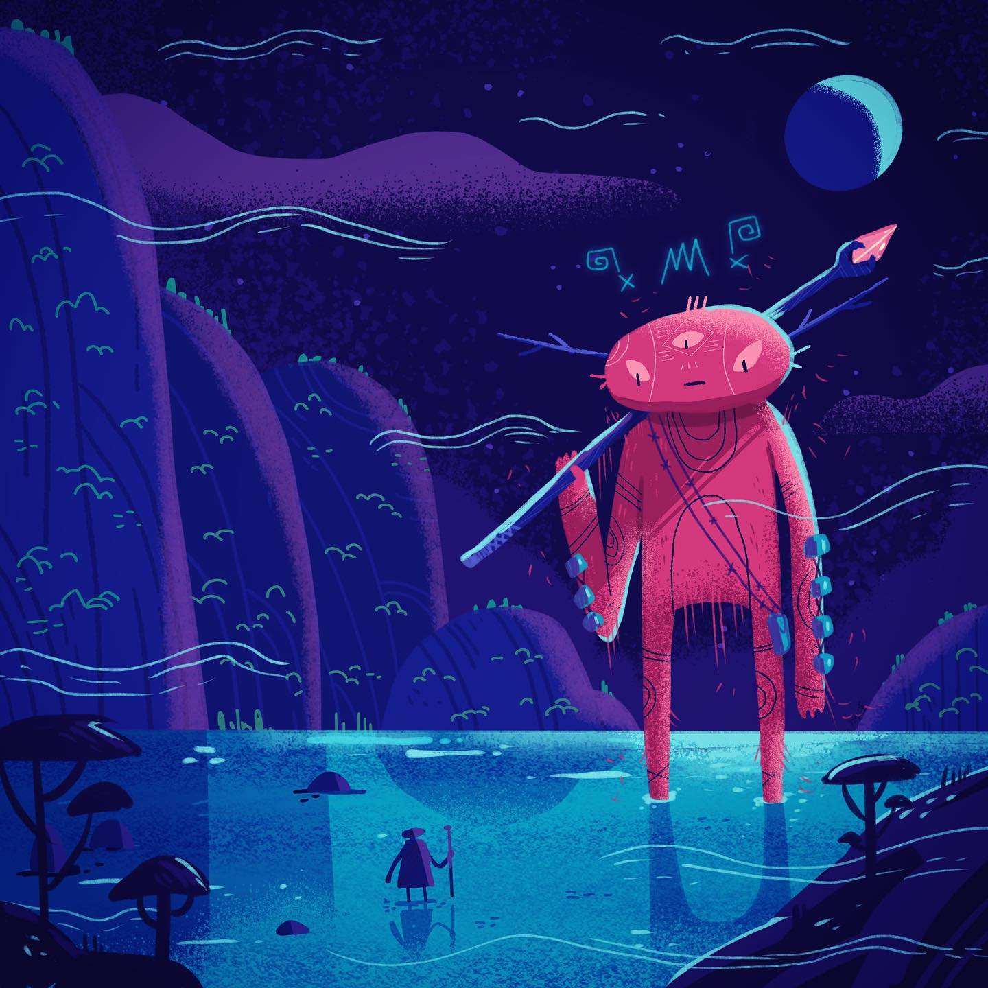 :::Meet your fate:::ipad illustration made with Procreate...#procreate #illustration #artoftheday